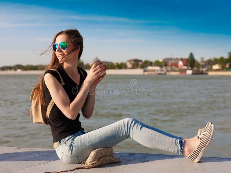 tanya Fiume turistico fotografie stock libere da diritti