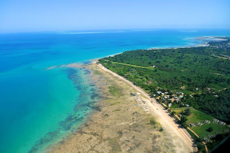 Tanzânia aérea foto de stock royalty free