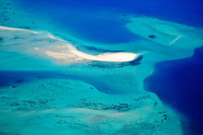 Tanzânia aérea foto de stock