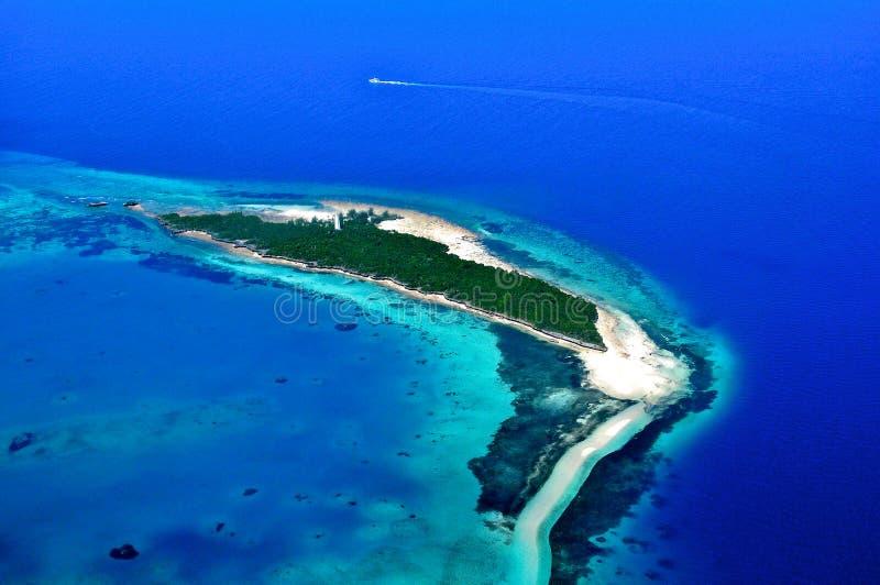 Tanzânia aérea fotografia de stock