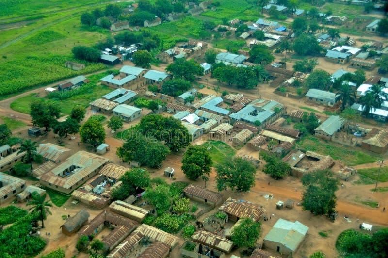 Tanzânia aérea imagens de stock royalty free
