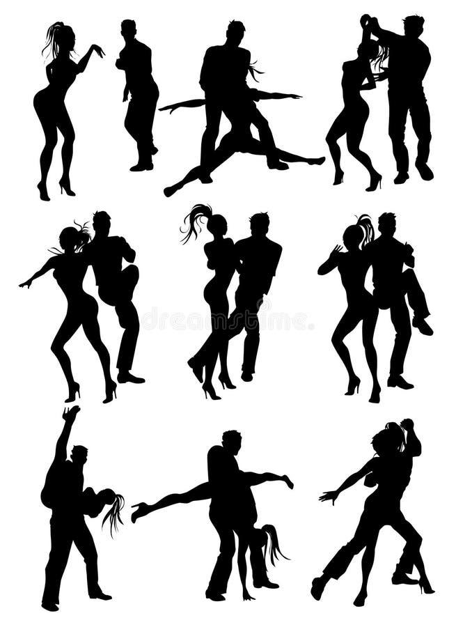 Tanz lizenzfreie abbildung