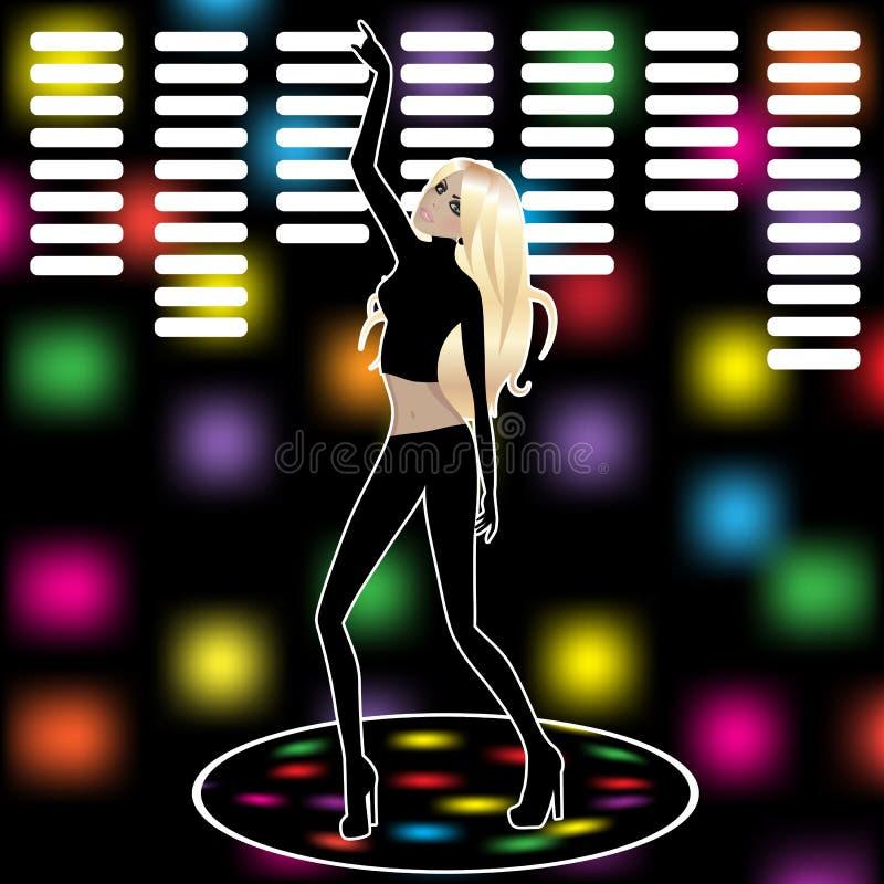 Download Tanz vektor abbildung. Illustration von fashion, zauber - 26365429