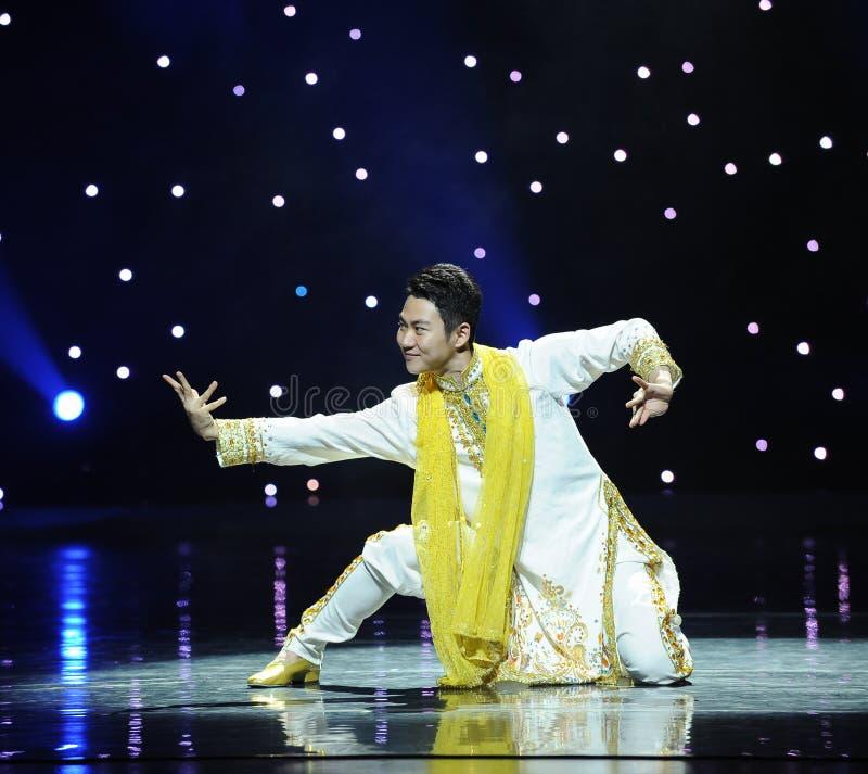 Tanz von Indien lizenzfreie stockbilder