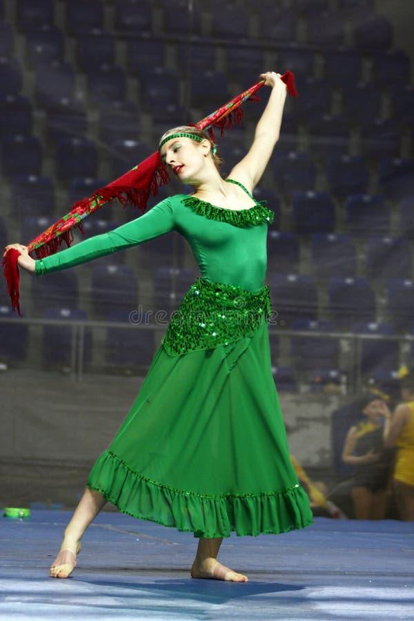 Tanz-Wettbewerb lizenzfreie stockbilder