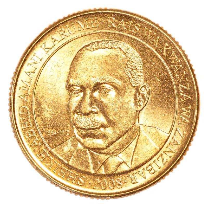 200 Tanzańskiego szylinga moneta zdjęcia royalty free