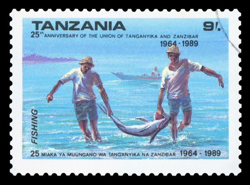TANZANIA - Postzegel stock fotografie