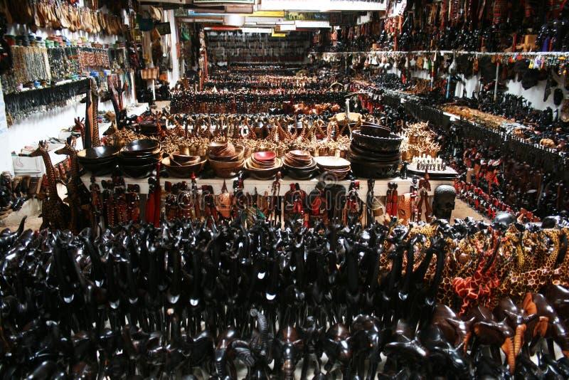 Tanzaniaanse winkel stock foto's