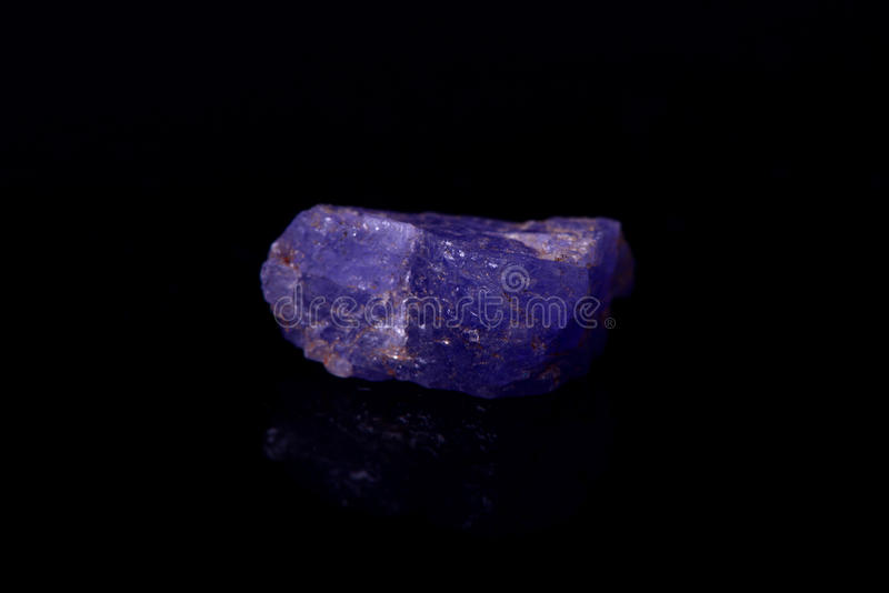 Tanzanite immagine stock