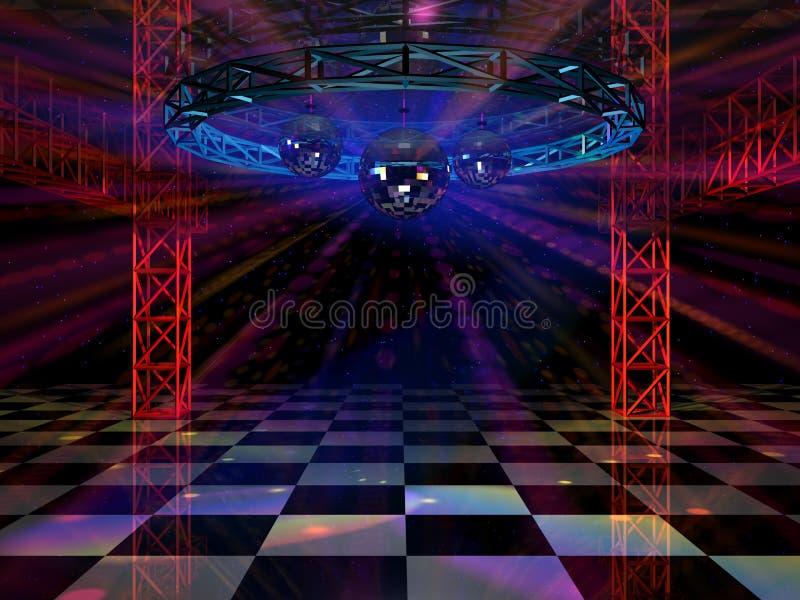 Tanzboden lizenzfreie abbildung