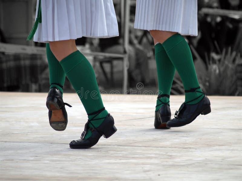 Tanzen-Füße