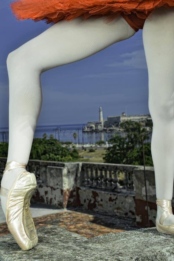Tanzen in Havana lizenzfreies stockfoto