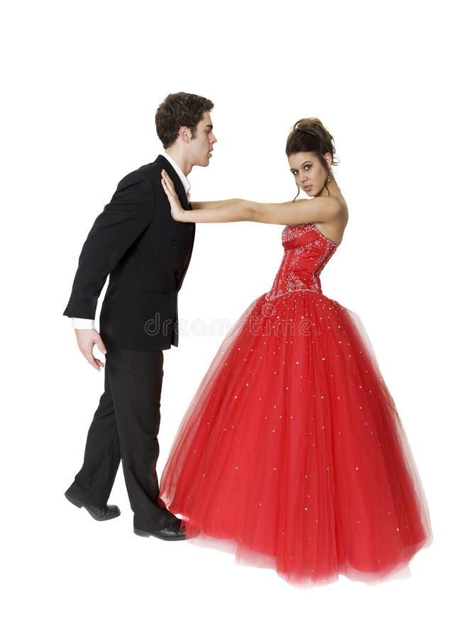 Tanzen mit Atittude lizenzfreie stockfotos