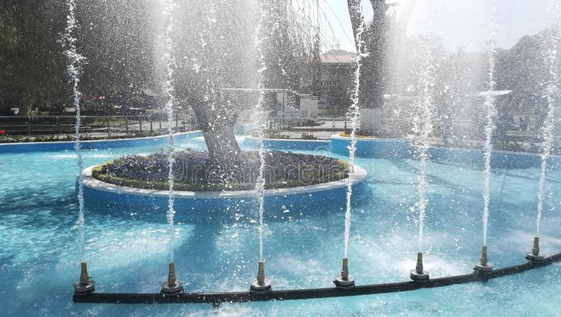 Tanzen-Wasser stockbild