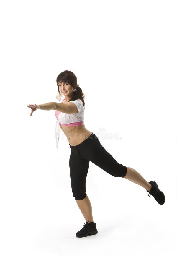 Tanzenfrau stockfotos