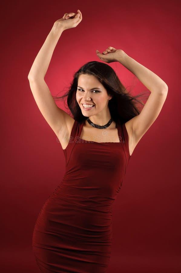 Tanzenfrau. stockfoto
