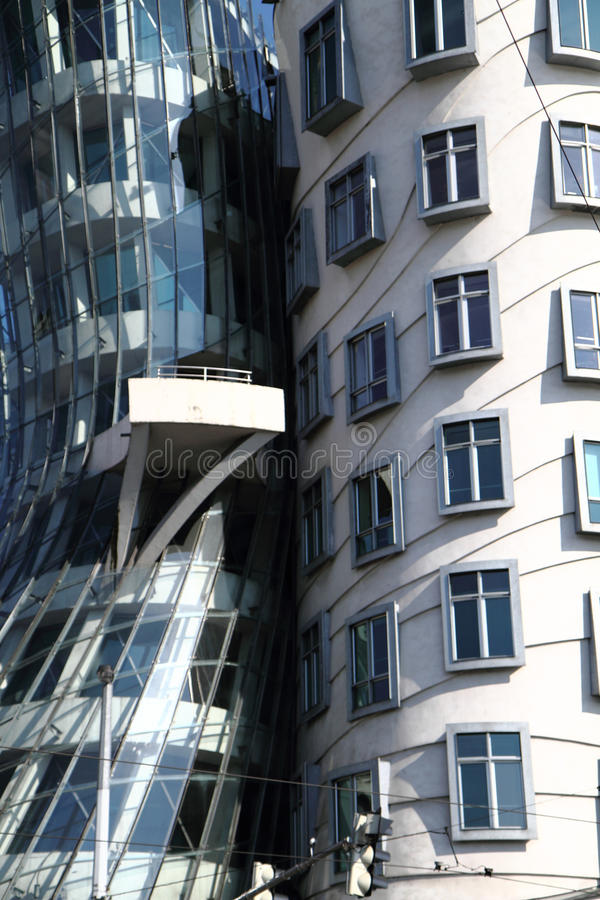 Tanzenhaus im Prag lizenzfreie stockbilder