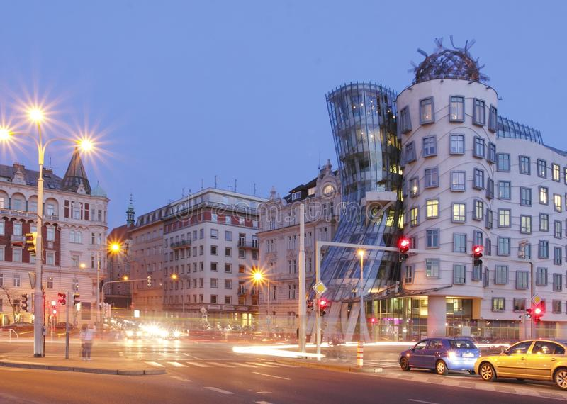 Tanzenhaus in Prag lizenzfreies stockbild
