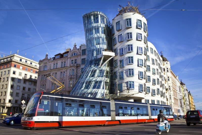 Tanzenhaus, Prag lizenzfreie stockfotografie