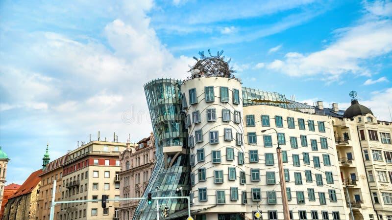 Tanzenhaus in Prag stockfoto