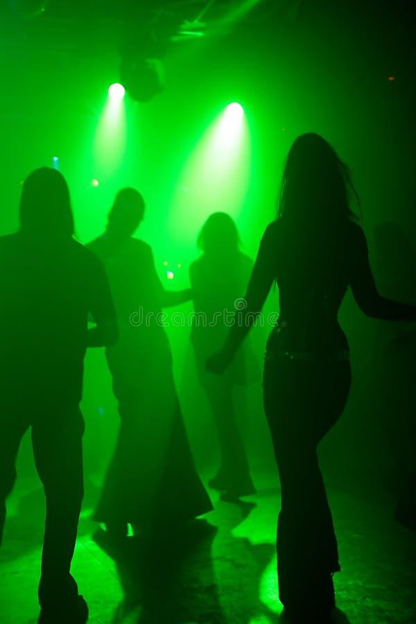 Tanzenjugendliche stockfoto