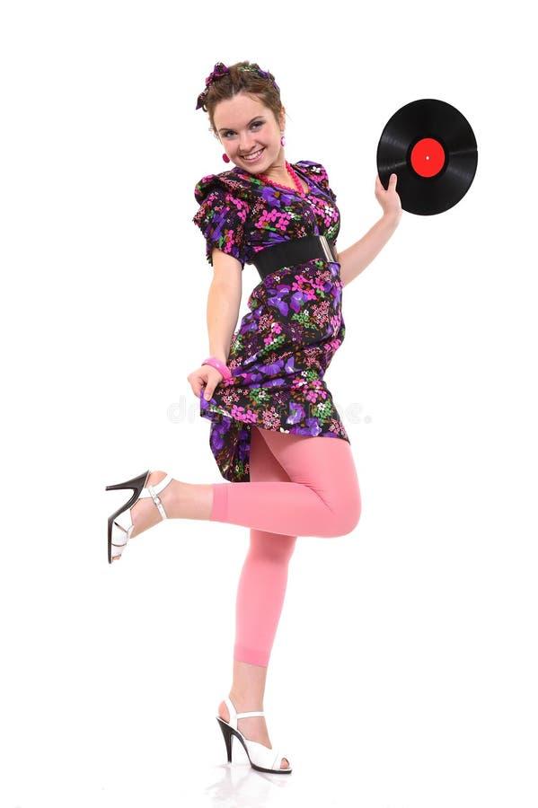 Tanzenkönigin lizenzfreies stockbild