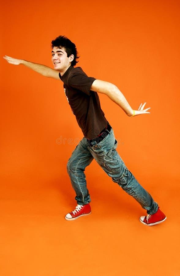 Tanzenkerl.   stockfotos