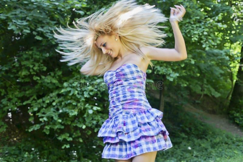 Tanzenmädchen stockfoto