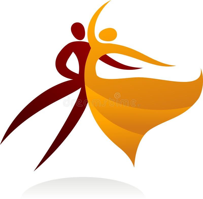 Tanzenpaare - 2 lizenzfreie abbildung