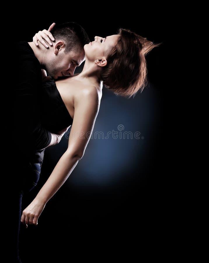 Tanzenpaare stockbild