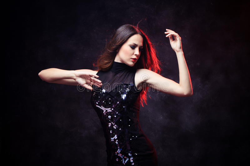 Tanzfrau stockbilder