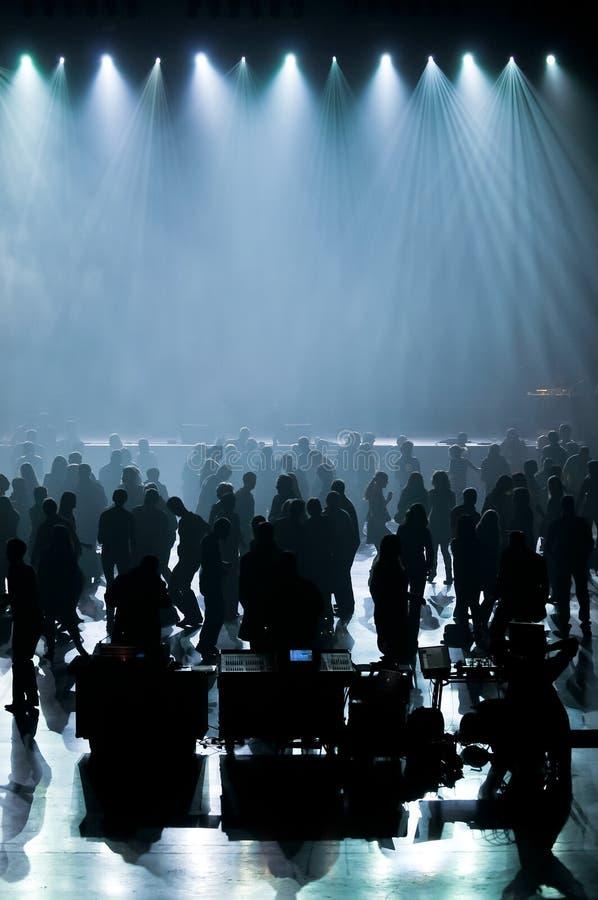 Tanzmusikkonzert stockbild
