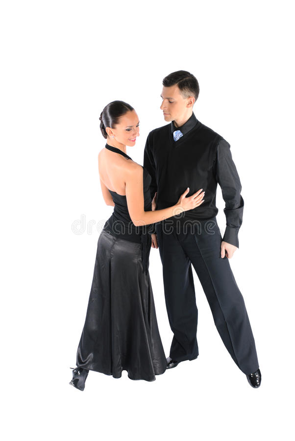 Tanzpaare stockbilder