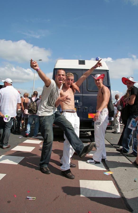 Tanzparade Rotterdam lizenzfreie stockfotografie