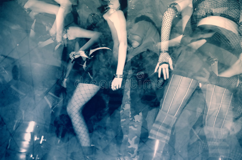 Tanzparty lizenzfreie stockfotos