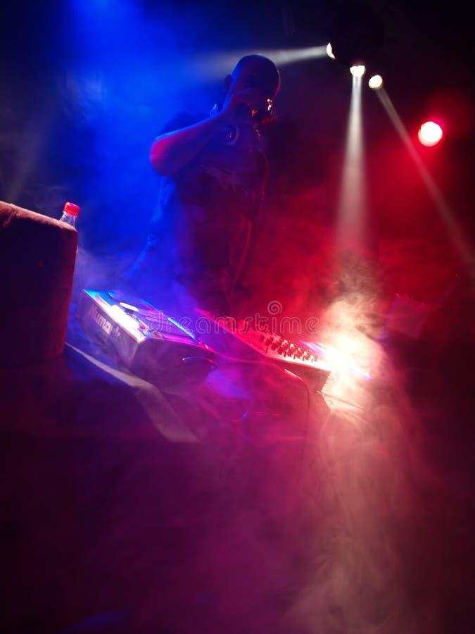 Tanzparty DJ stockfotos