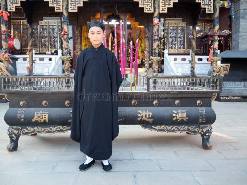 Taoïsme in Yunnan, China stock afbeelding