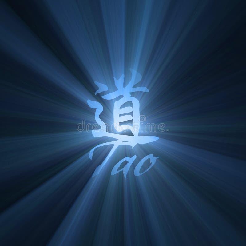 Tao-Hintergrund Stockfotos