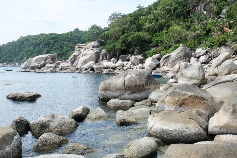 Tao Island royaltyfri bild
