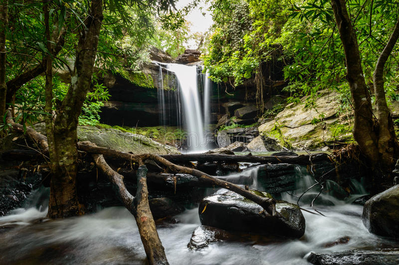 Tao Pun-waterval stock afbeelding