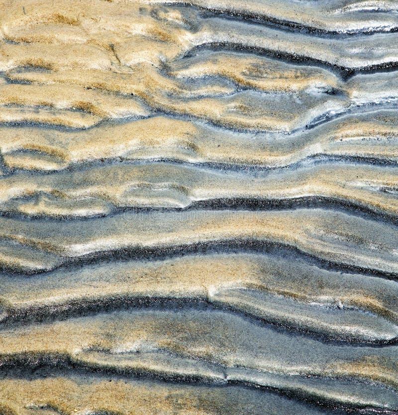 Tao trzymać na dystans abstrakt mokry piasek i plaża w chiny południowi obrazy royalty free