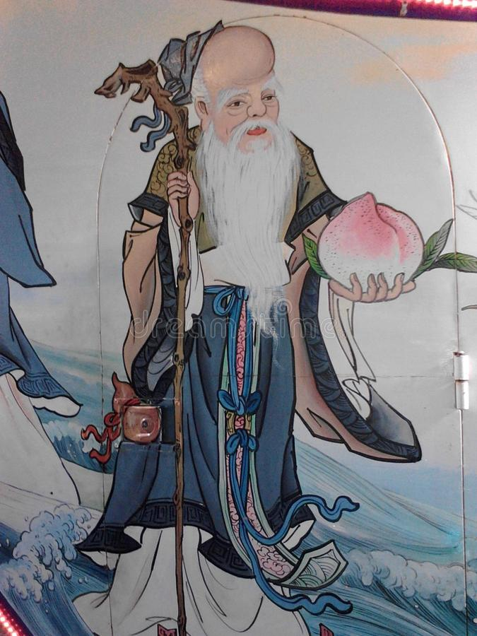 Taoist immortel images libres de droits