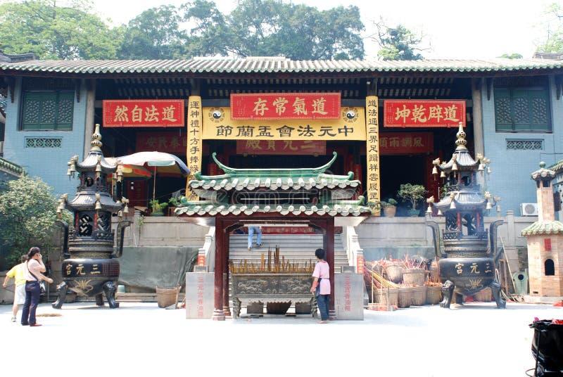 Taoist-Tempel lizenzfreie stockfotografie
