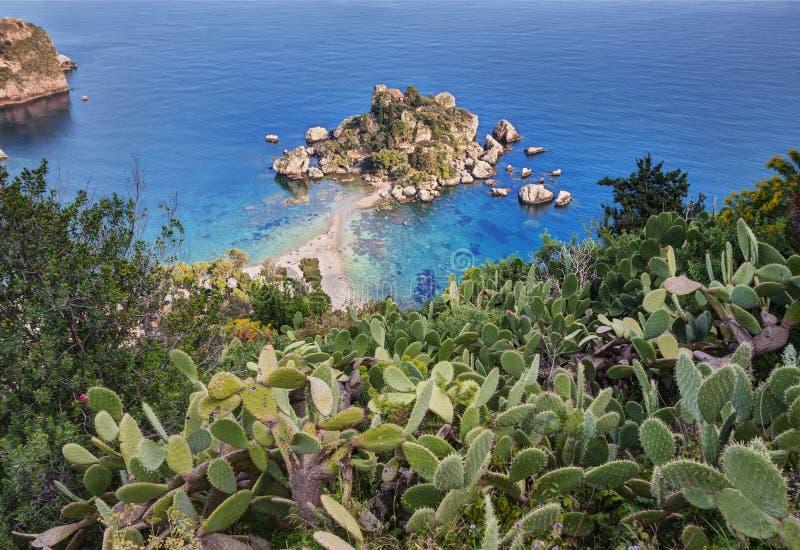 taormina της Σικελίας στοκ εικόνα με δικαίωμα ελεύθερης χρήσης
