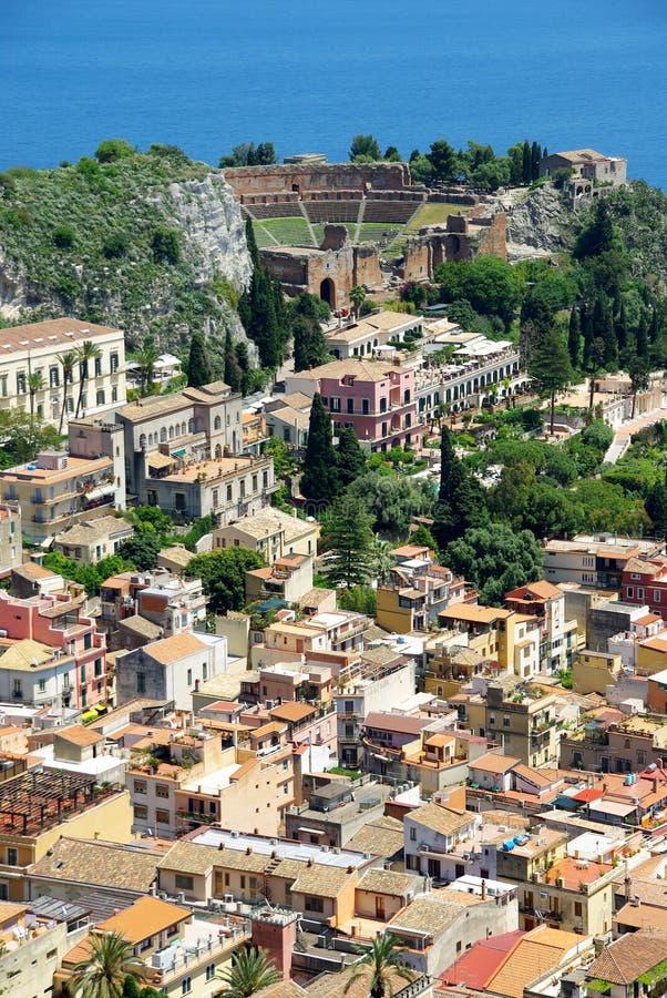 Taormina photo libre de droits