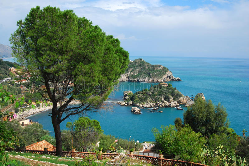 Download Taormina And Isola Bella (Sicily) Stock Photo - Image: 11430866
