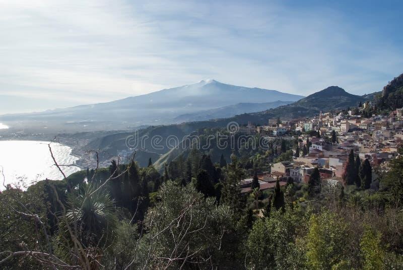 Taormina, Itália foto de stock