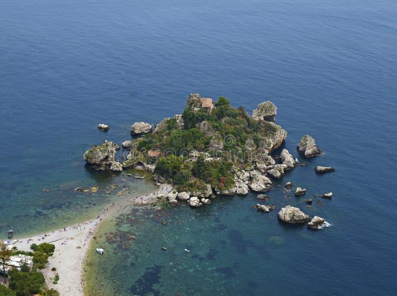 Taormina - l'Italia fotografia stock