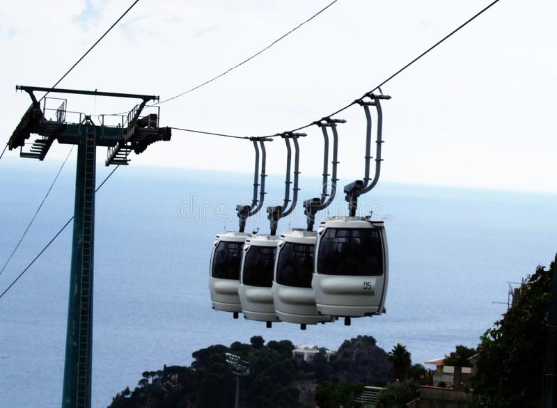 Taormina-Sicilien-Italien - Creative Commons av gnuckx royaltyfria foton