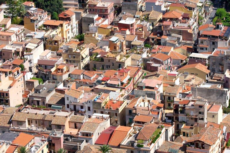 Taormina, Sizilien, Italien stockfotografie
